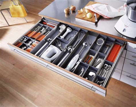 Drawer Inserts For Kitchen Cabinets by Functional Kitchen Storage Solutions Mecc Interiors