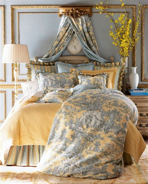 toile bedroom lutece cypress luxury linens the toile linens