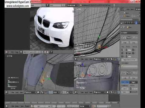 tutorial blender modeling car blender 2 6 car modelling tutorial part 1 youtube