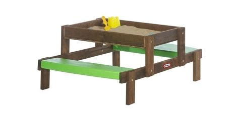 toys r us picnic table tikes 2 in 1 wooden sand and picnic table toys r us