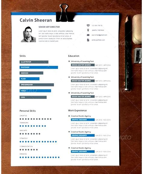 creative resume format creative resume template for director free sles