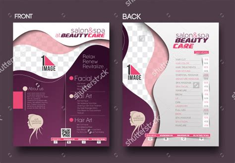 25 beauty salon flyer templates free premium download