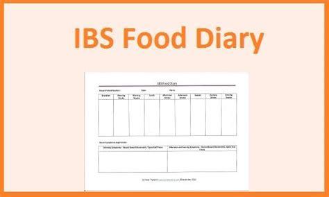 printable food diary for ibs ibs food diary www ibshelponline com irritable bowel