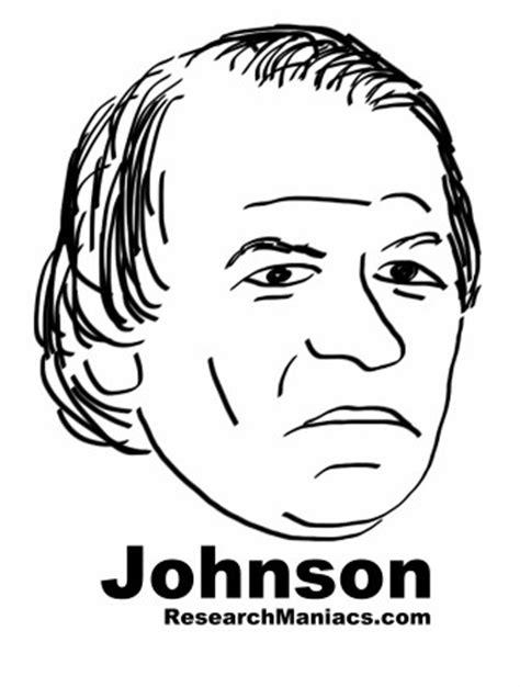 president andrew johnson facts information  trivia
