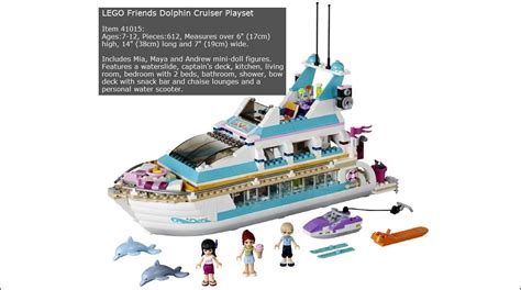 Playset Bow Lines lego friends dolphin cruiser playset review all best toys