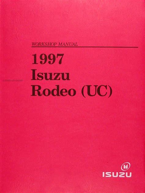 car repair manuals download 1997 isuzu rodeo parental controls 1997 isuzu rodeo honda passport repair shop manual original