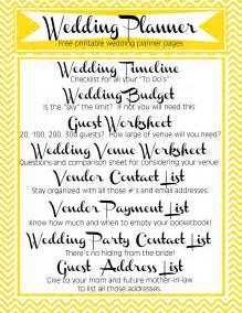 free printable wedding planner templates free printable wedding planner pages search engine