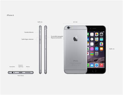 apple iphone 6 plus a1522 caracter 237 sticas especificaciones y precios geektopia