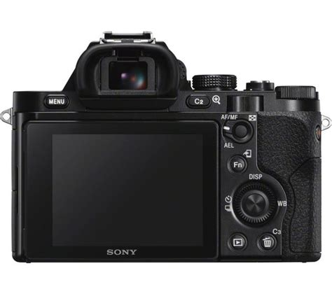 Sony Mirrorless A7 Fe 50mm F 1 8 buy sony a7 mirrorless with 28 70 mm zoom fe 50
