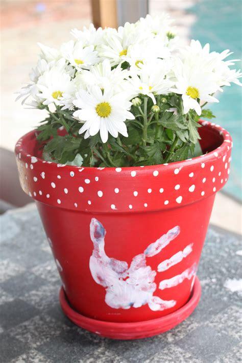 homemade flower pots diy flower pot bella bargains blog