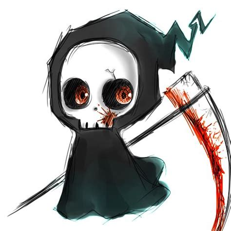 reaper tattoo by dethdealer31103 on deviantart chibi grim reaper by xdoodlezx deviantart on
