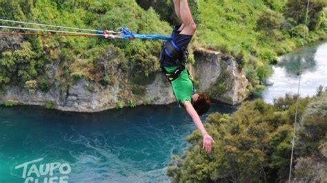 taupo bungy swing taupo bungy bungy swing adventure activity adrenalin