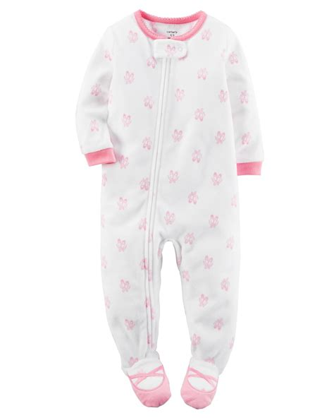 pajamas and slippers s infant toddler fleece footed pajamas