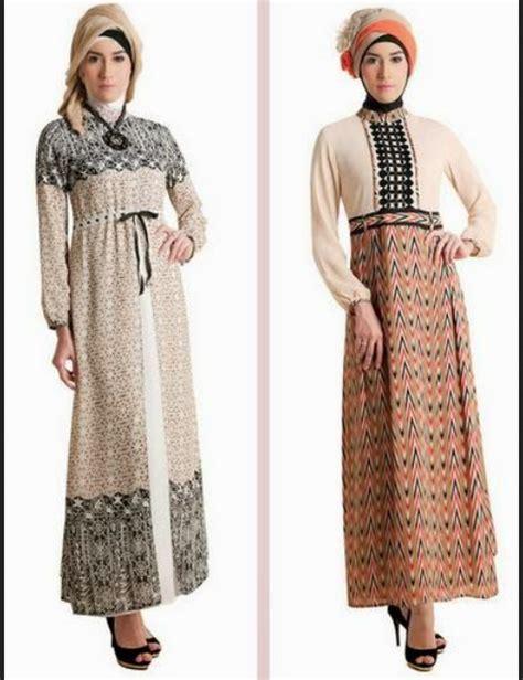 Gamis Pesta Batik model baju gamis batik kombinasi brokat