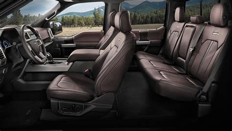 F150 Platinum Interior by Fte Review 2017 Ford F 150 Platinum A Primo Rig