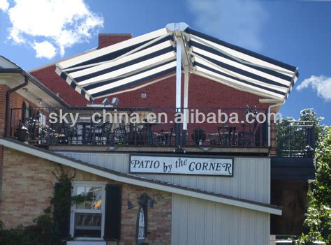 prefab awnings more convenience prefab metal frame retractable awning
