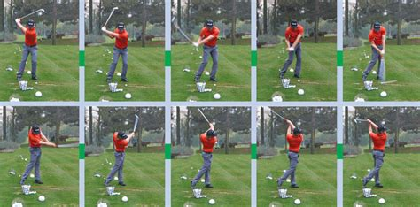golf swing sequence iron tips from the tour golf tips magazine