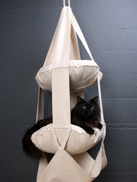 hanging cat bed the best cat condos beds and shelves diy home decor and decorating ideas diy