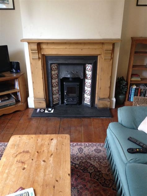 Fitting Log Burner Into Fireplace by 25 Best Ideas About Fireplace On