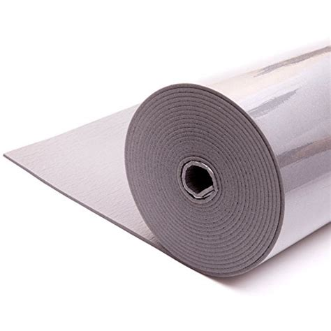 Insulating Self Bording 050mmx20mmx10mtr noico liner 157 mil 37 5 sqft car heat insulation pad foam import it all