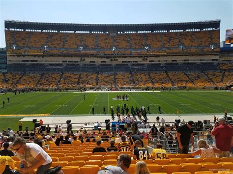 ford fan zone heinz field heinz field section 110 rateyourseats com