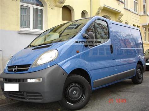 opel vivaro 2005 opel vivaro 2005 other vans trucks up to 7 photo and specs