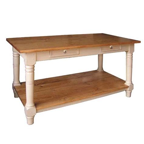 kitchen island work table country furniture made
