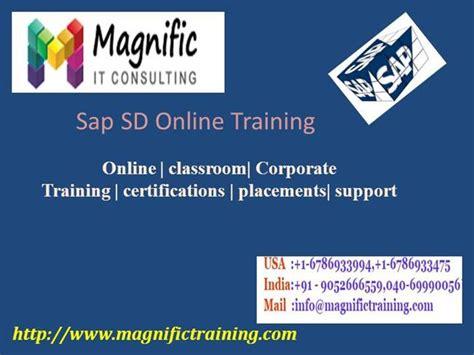 tutorial sap sd sap sd online training tutorial authorstream