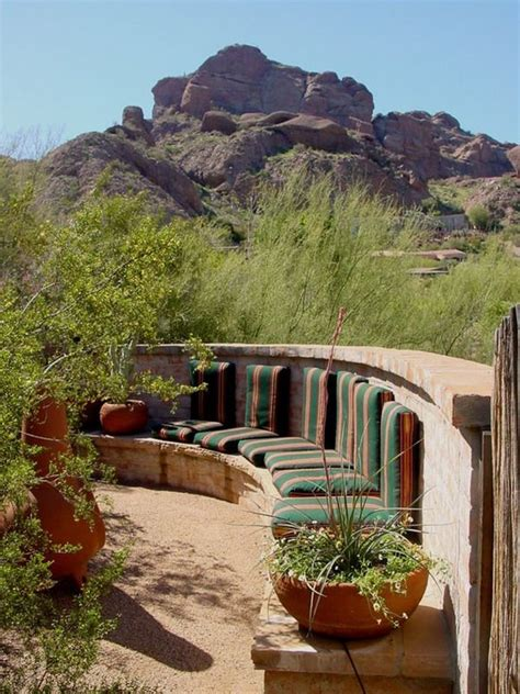 Landscape Ideas Desert Southwest Best 25 Southwestern Outdoor Decor Ideas On