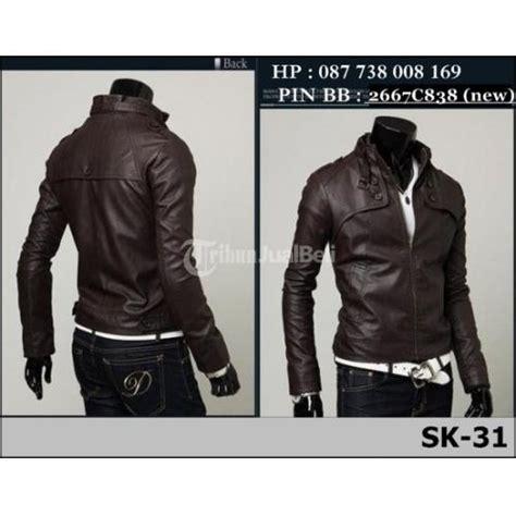 Jaket Kulit Pria Jangkis jaket kulit bantul jual jaket kulit jaket murah jaket