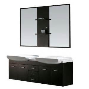 Bathroom Vanity Mirror Cabinet Home Depot Vigo Sink Vanity With Counter Mirrors Shelves At