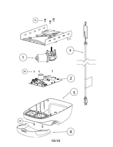 genie garage door opener parts diagram genie garage door opener parts model silentmax10003042