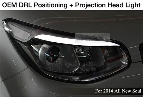 2014 Kia Soul Aftermarket Parts Oem Parts Led Drl Positioning Projection L For