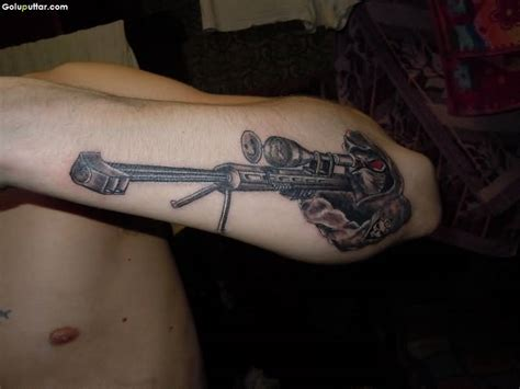 army sniper tattoos and photo ideas