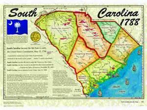 map of colonial south carolina map