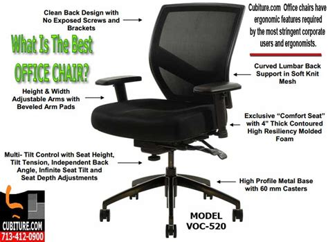 Best Back Support For Office Chair by What Is Best Office Chairs For Back Support