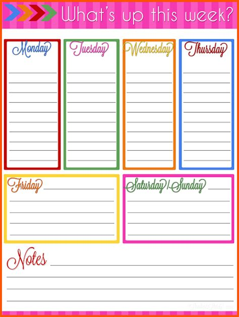 printable weekly planner for 2015 planner 2015 printable www pixshark com images