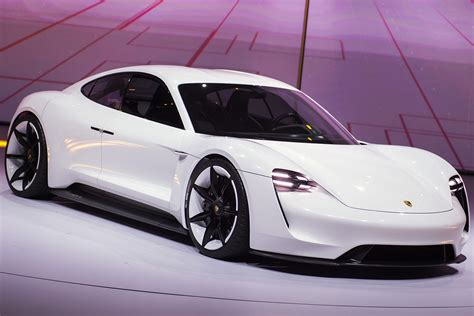 porsche sports car porsche mission e all electric sports car to go on sale