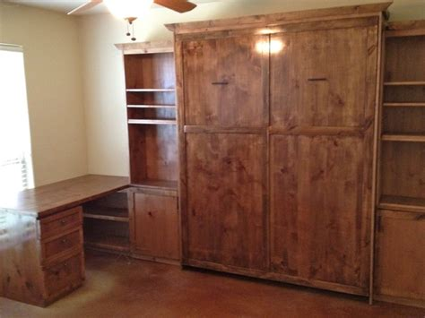 custom murphy bed the best custom made murphy beds in texas rustic home