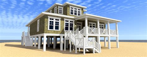 Beach House Building Plans scuppers house plan tyree house plans