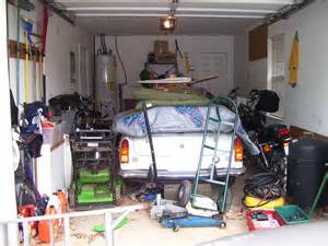 One Car Garage Organization Ideas - messy garage pictures inspirational pictures
