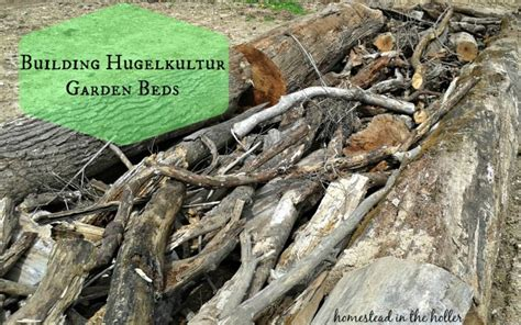 hugelkultur bed hugelkultur garden beds homestead in the holler