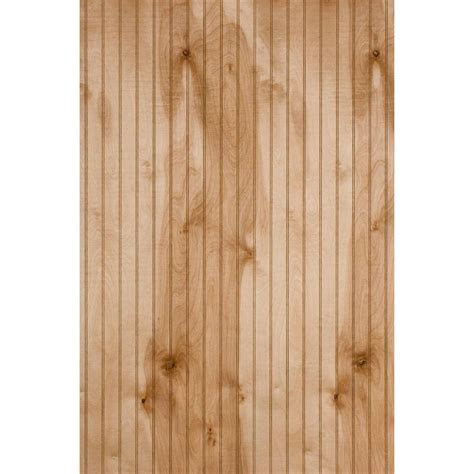 4 X 8 Wainscoting Panels by 1 4 In X 4 Ft X 8 Ft Waterford Maple Panel 219040 The