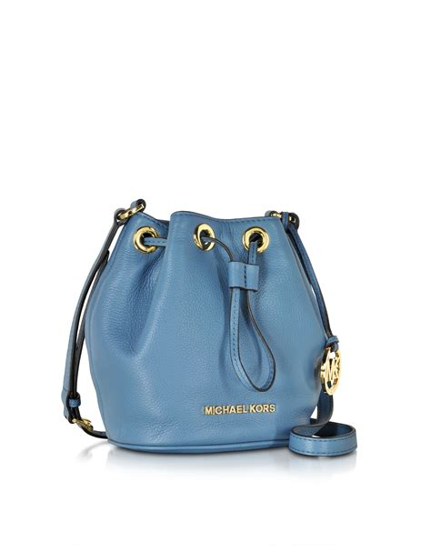 Maloles Handbag by Michael Kors Jules Soft Leather Drawstring Crossbody Bag