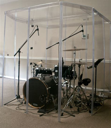soundproof drum room drum booth fully enclosed w a door sound proof room ebay