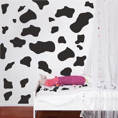 Spot Wall Stickers animal spots vinyl wall decal stickers sow and cheetah