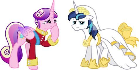 my little pony princess cadence shining armor cadence and princess shining armor by mactavish1996 on