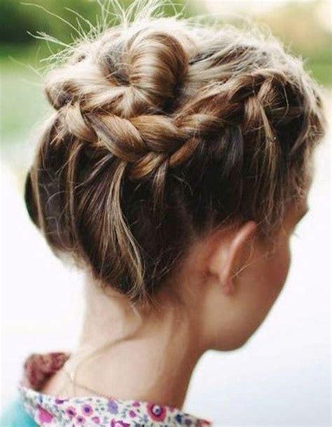 coiffure cheveux mi longs facile et rapide automne hiver