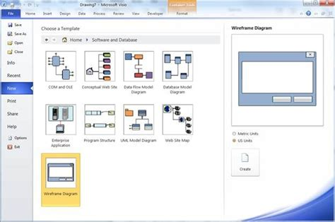 visio mockup wireframe shapes in visio 2010 visio insights