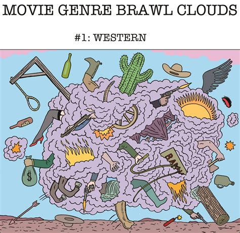 cartoon film genre movie genre brawl clouds today s comic by michael